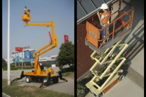 Mobile Elevated Work Platform (Cherry picker)