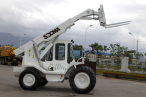 Operate a Telescopic Boom Handler