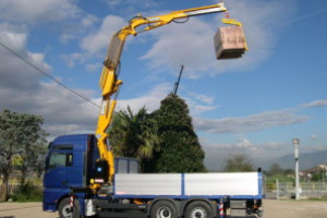 Operate a Truck Mounted Crane